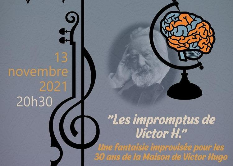 8èmes Musicales d'Automne - «Les impromptus de Victor H.» à Bievres