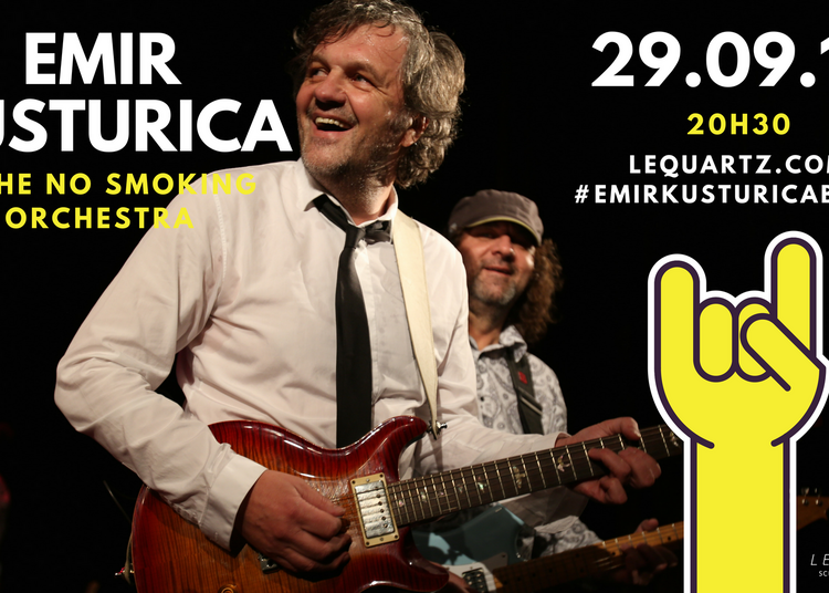 Emir Kusturica en concert à Brest