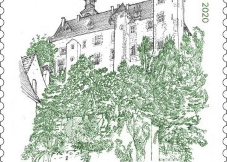 Emission Du Timbre Château Des Ducs De Bourbon à Montlucon
