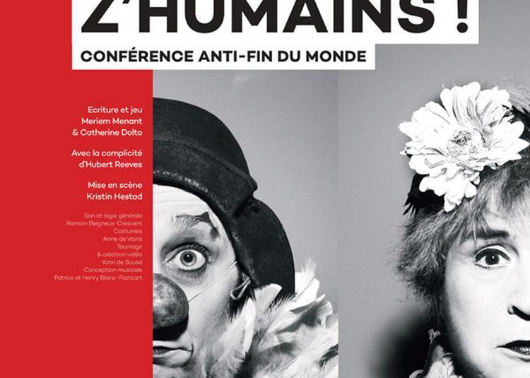 Emma La Clown Et Catherine Dolto à Paris 10ème