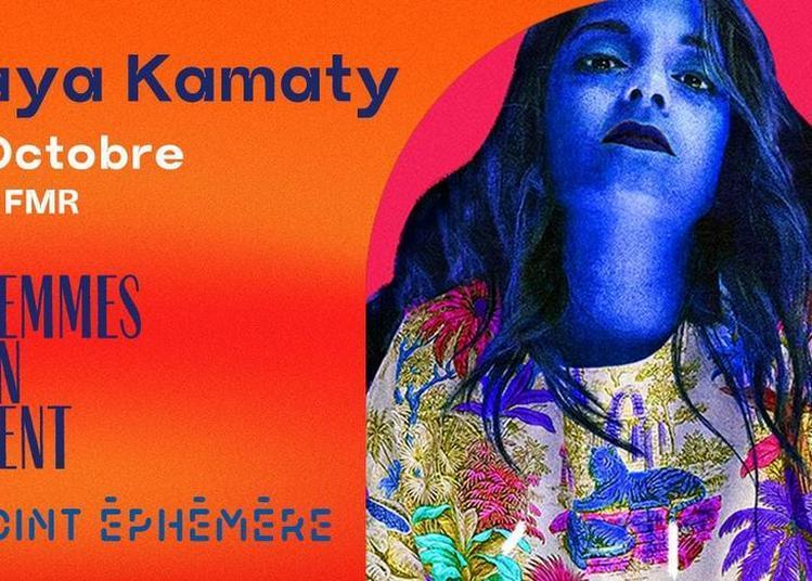 En Attendant Les Femmes S'en Mêlent : Maya Kamaty + Guest à Paris 10ème