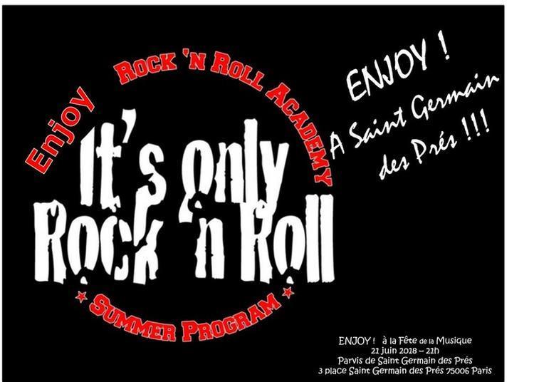 Enjioy - Rock Band - Classic Rock à Paris 6ème