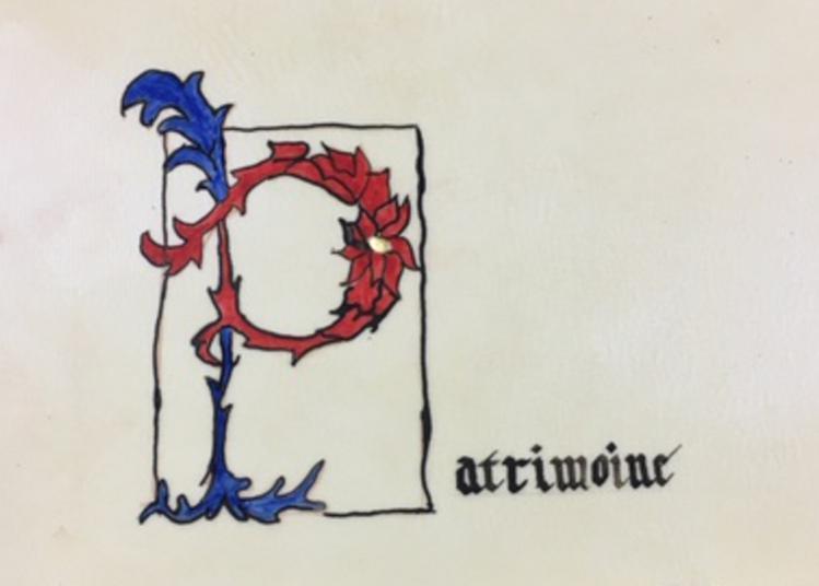 Enluminure Et Calligraphie, Atelier Pour Adulte à Perpignan