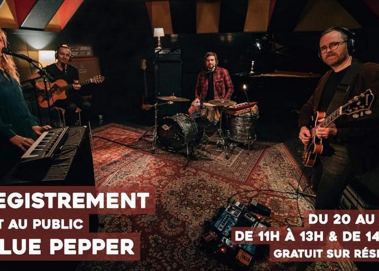 Enregistrement ouvert au public de Blue Pepper à Sceaux