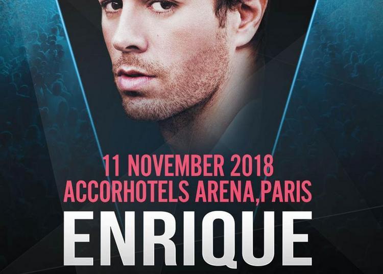 Enrique Iglesias à Paris 12ème