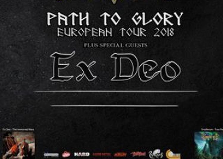 Ensiferum/ Ex Deo à Grenoble