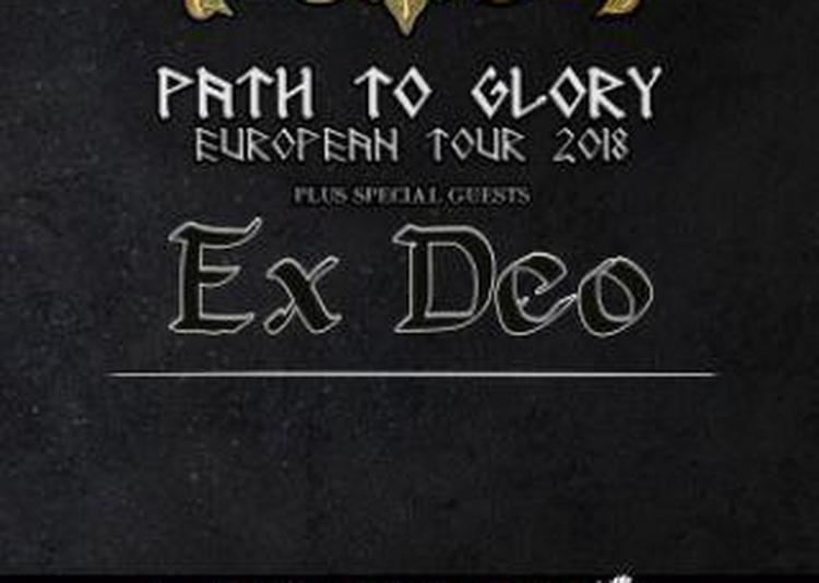 Ensiferum  Path To Glory Tour 2018 + Special Guest : Ex Deo à Toulouse