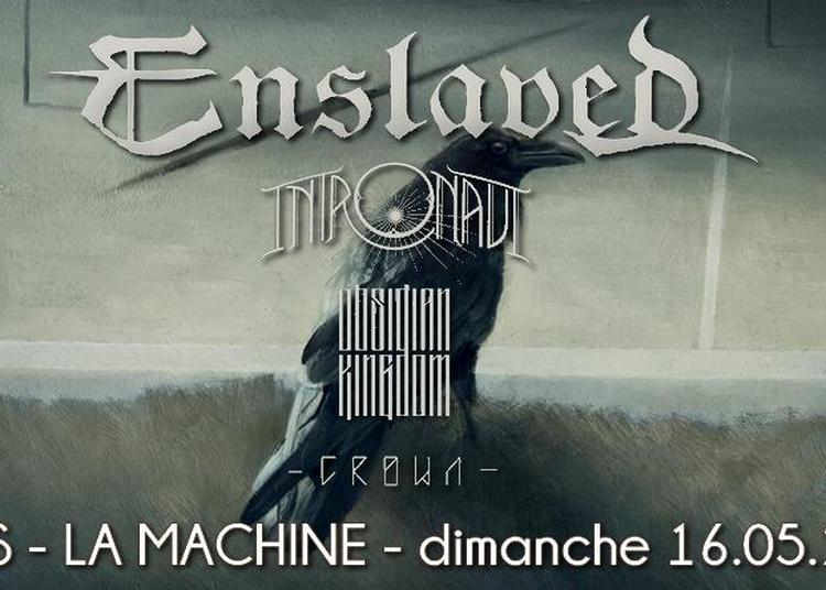 Enslaved + Intronaut à Paris 18ème