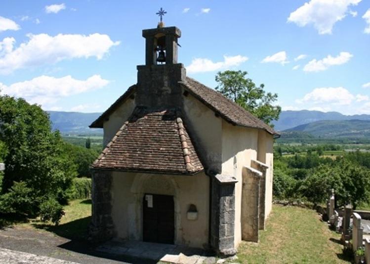 Entre Paysage Et église à Vongnes