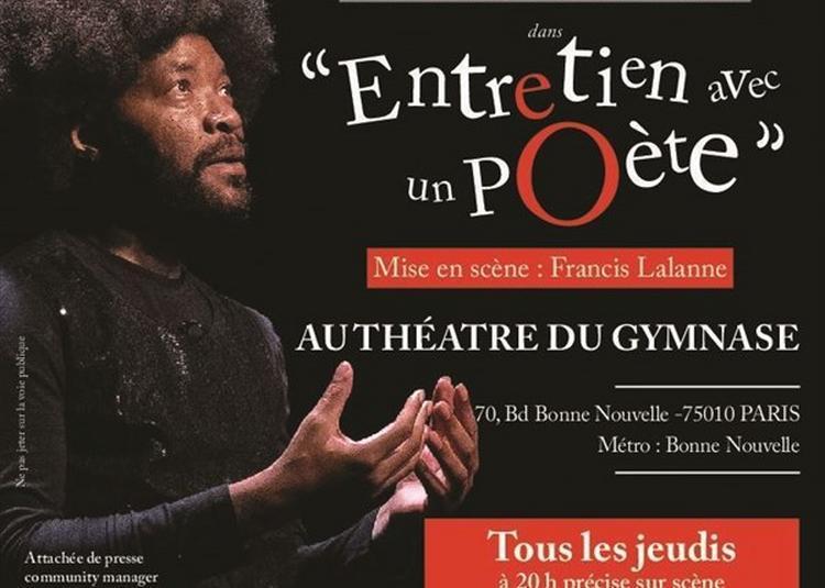 Entretien Avec Un Poète à Paris 10ème