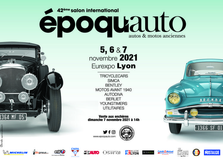 Epoqu'auto 2021 : Tous Les Feux Sont Au Vert ! à Chassieu