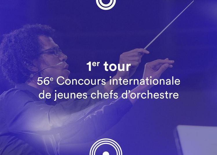 1er tour - 56e Concours de jeunes chefs d'orchestre à Besancon