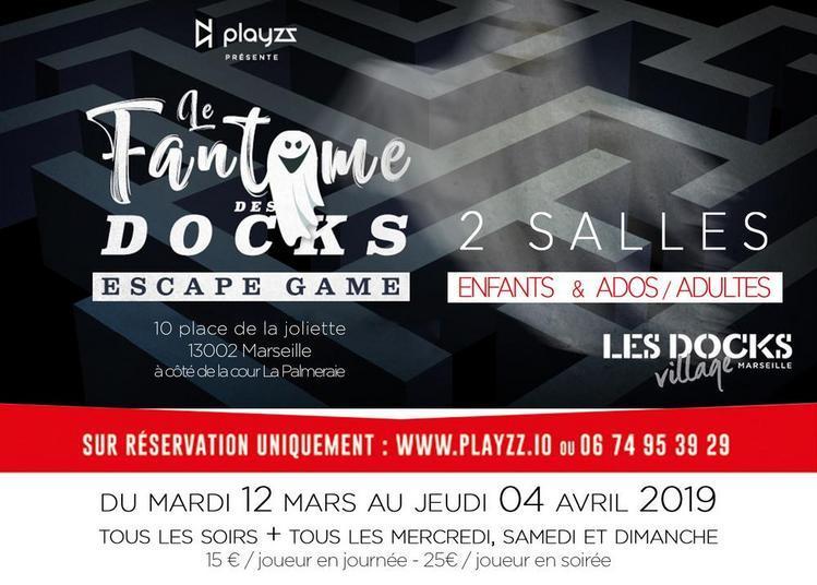Escape game éphémère à Marseille