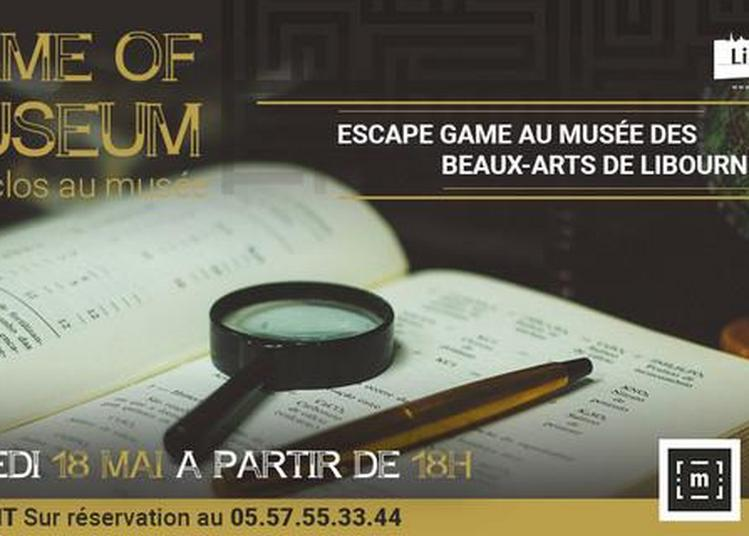 Escape Game Game Of Museum : Huit Clos Au Musée à Le Bouscat