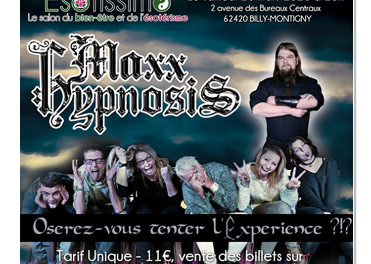 Esotissimo spectacle d'hypnose à Billy Montigny
