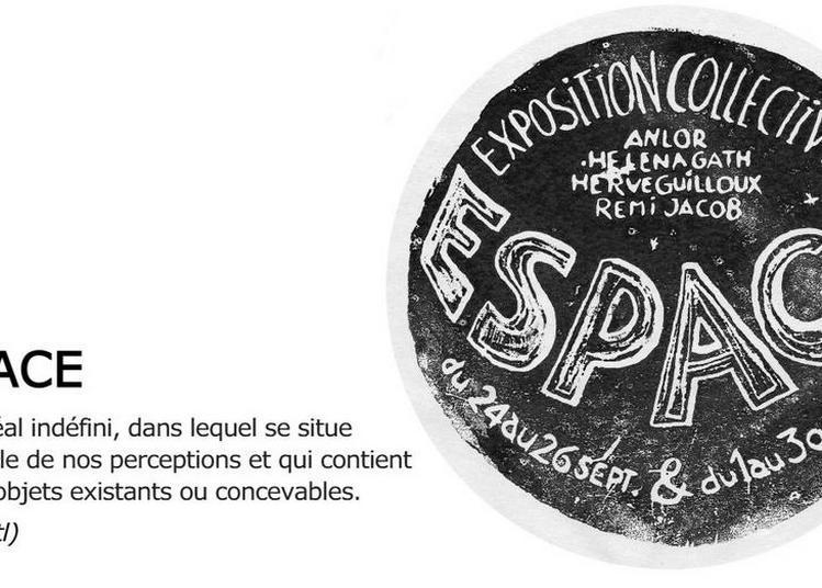 Espace - Exposition Collective à Rennes
