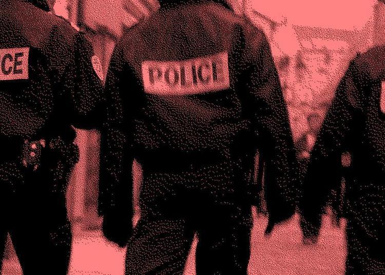 Et si les forces de l'ordre avaient remplacé les gardiens de la paix ? à Noisiel