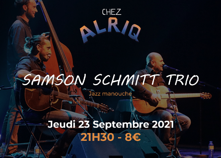 SAMSON SCHMITT TRIO - Jazz manouche à Bordeaux