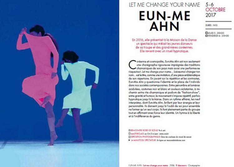 Eun-Me Ahn à Lyon