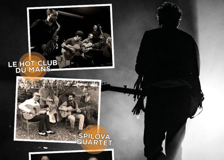 Europajazz : Le Hot Club Du Mans / Spilova Quartet / Spirit Of Arethuse à Le Mans
