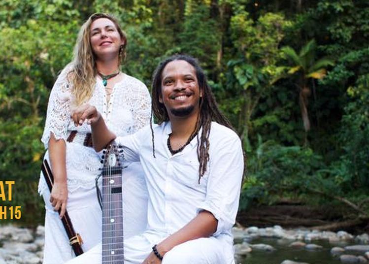 Evaïana - Festival Terre De Blues De Marie-Galante Jour 1 à Grand Bourg