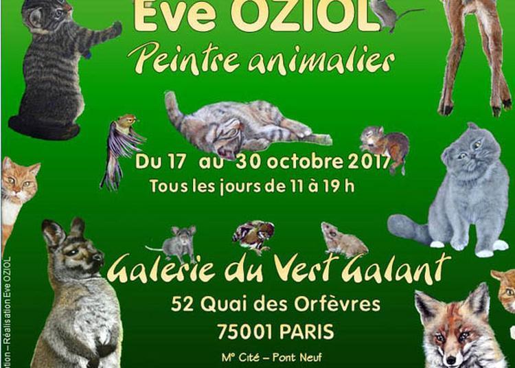 Eve Oziol - Peintre Animalier à Paris 1er