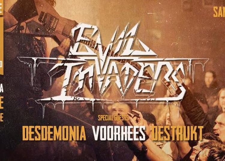 Evil Invaders & Guests à Thionville