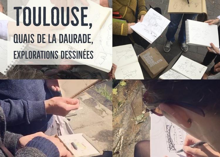 Explorations Dessinées à Toulouse