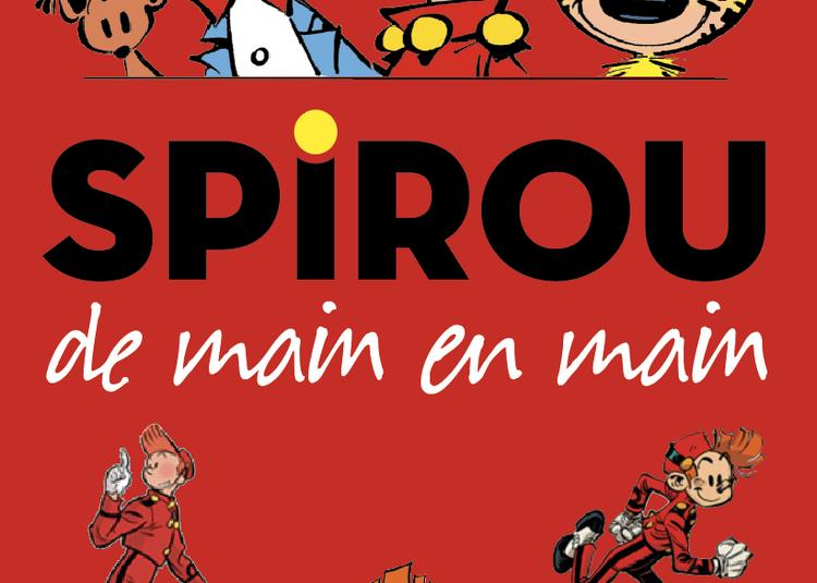 Expo BD Spirou : De main en main à Caunes Minervois