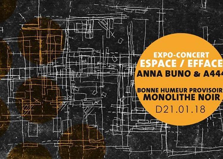 Expo-Concert : Espace / Efface à Amiens