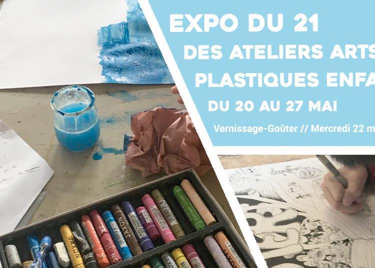 Expo du 21 : ateliers Arts Plastiques enfants à Sceaux