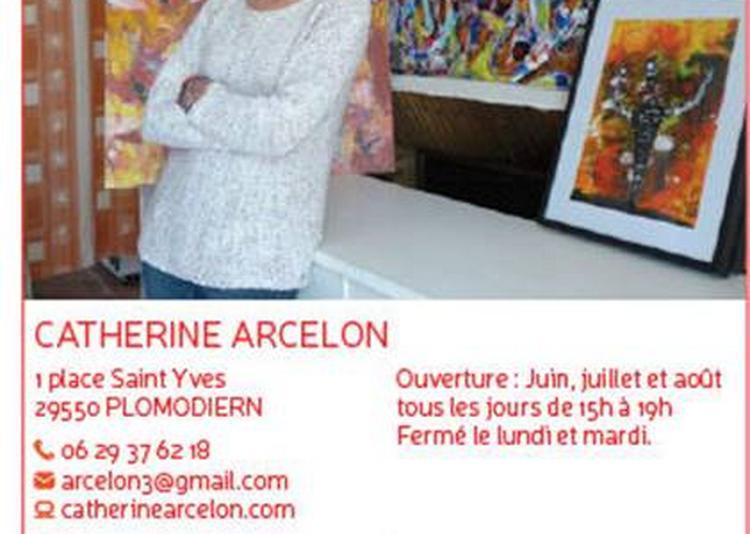 Exposition L'art Abstrait De L'artiste à Plomodiern