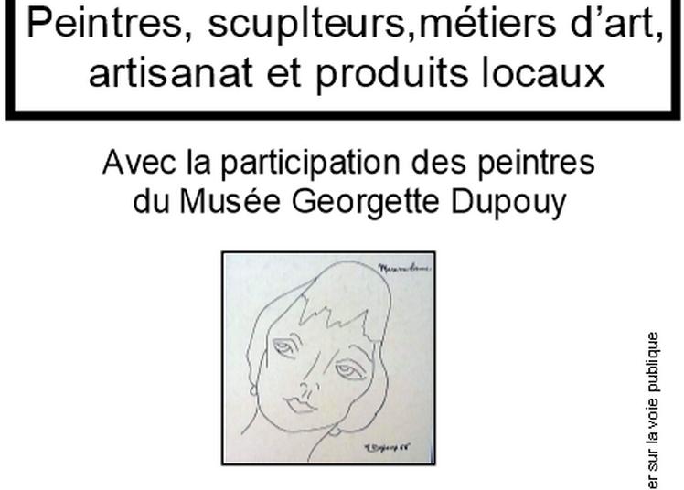 Exposition Peintres, scuplteurs,métiers d'art à Poyartin