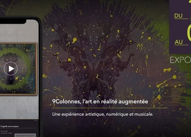 Exposition : 9colonnes, L'art En Réalité Augmentée Par Thomas Pinpin à Bordeaux
