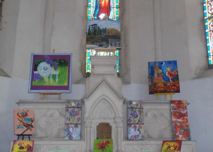 Exposition À La Chapelle à Miramont de Comminges