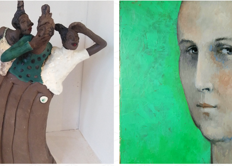 Exposition Roxane Duraffourg et Marie Pichon-Varin à Lalinde