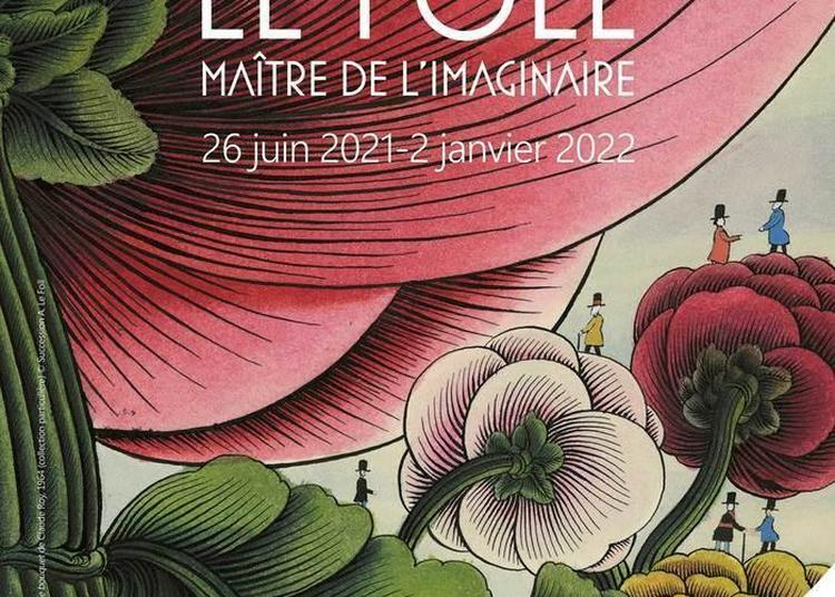 Exposition Alain Le Foll, Maître De L'imaginaire à Evian les Bains