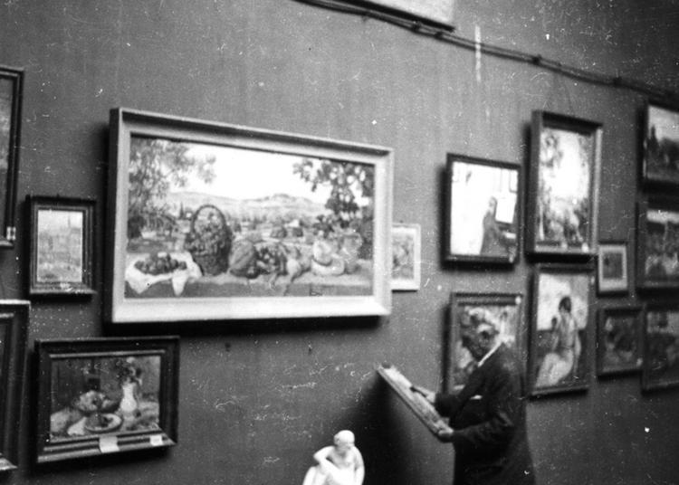 Exposition Albert André, Conservateur Et Fondateur D'un Musée D'art Moderne D'exception à Bagnols sur Ceze