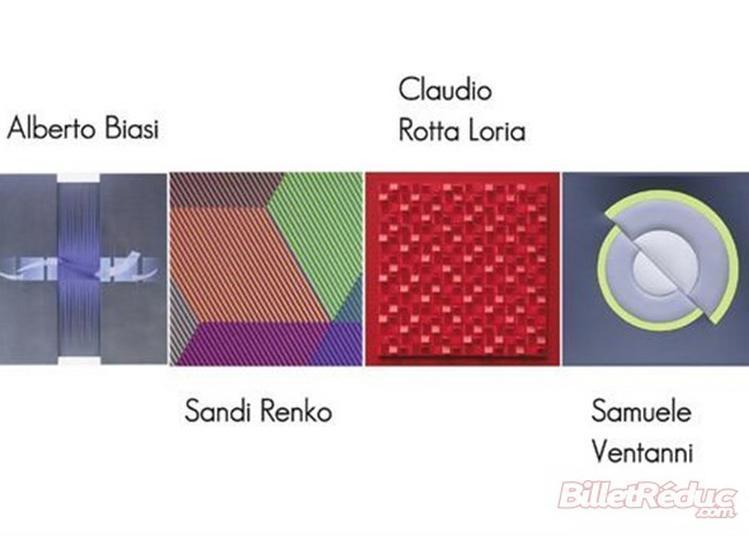 Exposition Alberto Biasi, Sandi Renko, Claudio Rotta Loria Et Samuele Ventanni - Structures Visuelles D'Aujourd'Hui à Nice