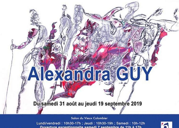 Exposition Alexandra Guy à Paris 6ème