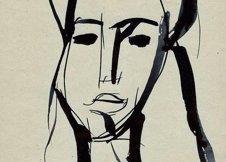 Exposition André Blondel. Le Dessin Fulgurant à Paris 4ème