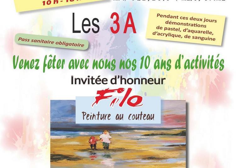 Exposition annuelle de l'association l'Atelier des Artistes Amateurs - Les 3 A de Villemeux-sur-Eure à Villemeux sur Eure