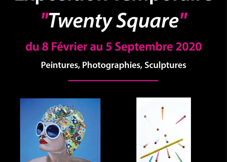 Exposition Art Contemporain Twenty Square à Saumanes de Vaucluse
