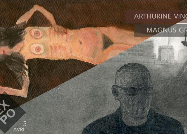 Exposition Arthurine Vincent | Magnus Gramén à Paris 3ème