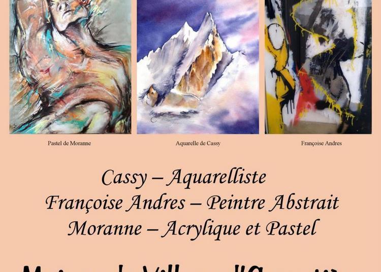 Exposition Artistes au Féminin à Argentiere