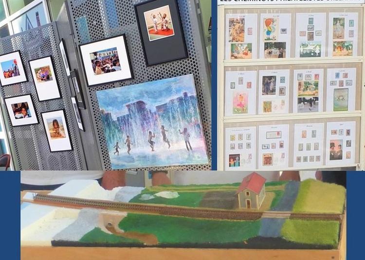 Exposition Artistes Cheminots, Philatélistes Et Modélistes à Orléans