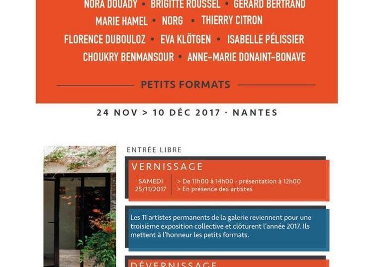 Exposition 11 artistes permanents à Nantes