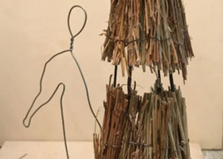 Exposition : Arts Contemporain Au Jardin Du  Prieuré De Genets Exil De Sophie Hutin
