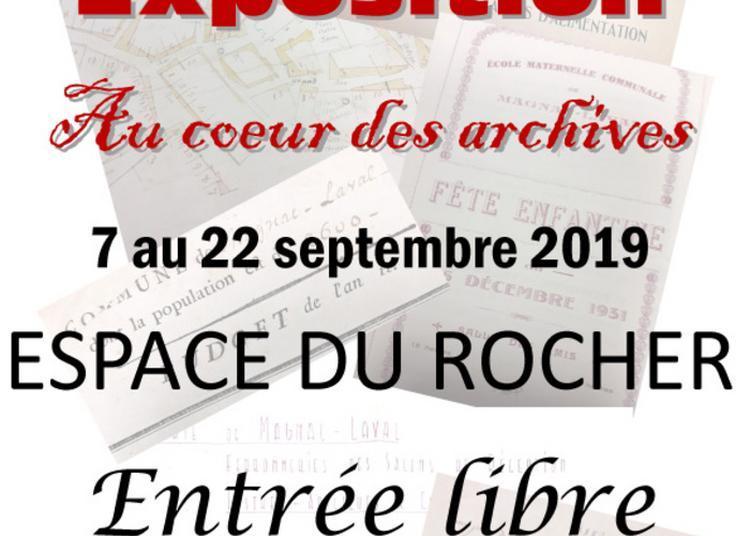 Exposition Au Coeur Des Archives à Magnac Laval
