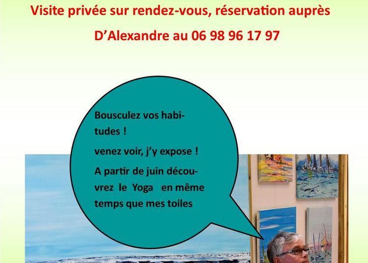 Exposition au Palais du Yoga à Quimper
